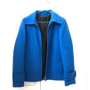 Beautiful Zara jacket in royal blue